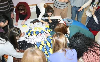 ΘΕΜΑΤΙΚΟ ΑΠΟΚΡΙΑΤΙΚΟ ΕΡΓΑΣΤΗΡΙ: Μικροί και μεγάλοι καλλιτέχνες ζωγραφίζουν Πικάσο